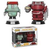 Funko POP Star Wars Bobble 2-Pack: Solo - Fight Droids (Exc) (CC) (Figurka)