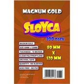 Koszulki Magnum Gold 80x120mm (100szt) SLOYCA (akcesoria)