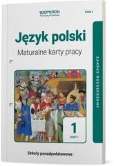 Język polski 1 Maturalne karty pracy Część 1 Linia I Zakres rozszerzony