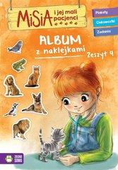 Misia i jej mali pacjenci Album z naklejkami Zeszyt 4
