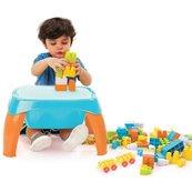 Stolik wielofunkcyjny - Play Table With Blocks 42 elementy