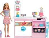 Barbie Pracownia wypieków zestaw + lalka