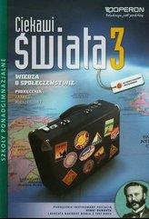 Ciekawi świata 3 Wiedza o społeczeństwie Podręcznik Zakres rozszerzony