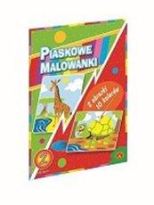 Piaskowa Malowanka Żyrafa Żółw