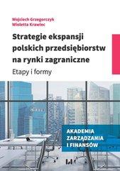 Strategie ekspansji polskich przedsiębiorstw na rynki zagraniczne