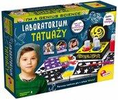I'm a genius science Laboratorium tatuaży