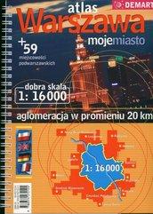Warszawa moje miasto Atlas