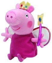 Beanie Babies Peppa Pig - Świnka Peppa księżniczka średnia