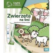 Czytaj z Albikiem. Zwierzęta na wsi - interaktywna mówiąca książka