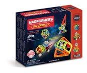 Magformers Vehicle Space Wow Klocki magnetyczne 22 elementów
