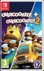 Zestaw Overcooked! Rozgotowani + Overcooked! 2: Rozgotowani (Switch)