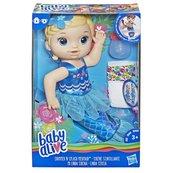 Hasbro - Baby Alive Lalka Migocząca syrenka Blondynka