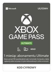 Subskrypcja Xbox Game Pass Ultimate (1 m-c) (XSX/XSS/XOne/PC) DIGITAL