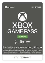 Subskrypcja Xbox Game Pass Ultimate (3 m-ce) (XSX/XSS/XOne/PC) DIGITAL