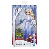 Hasbro Disney Frozen Kraina Lodu 2 - Lalka Elsa, Pabbie i Salamander