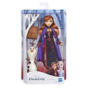 Hasbro Disney Frozen Kraina Lodu 2 - Lalka Anna i Olaf