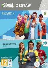 Zestaw The Sims 4 + The Sims 4 Uniwersytet (PC) PL