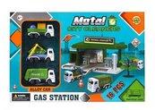 Stacja paliw Służby porządkowe
