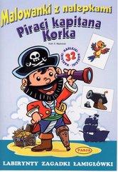 Malowanki z nalepkami Piraci Kapitana Korka