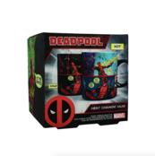 Deadpool kubek zmieniający kolor pod wpływem ciepła
