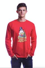 Disney Świąteczna koszulka z długim rękawem rozmiar L
