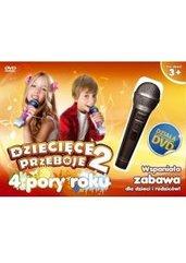 Karaoke Dziecięce Przeboje 2 + Polskie Kolędy Karaoke (PC) PL + mikrofon
