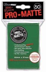 ULTRA-PRO Deck Protector - Pro-Matte Non-Glare Green (Zielone) 50