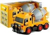 Żółta betoniarka ciężarówka obrotowa gruszka 42 cm