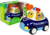 Auto policyjne z dźwiekiem