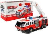 Auto straż pożarna z drabiną
