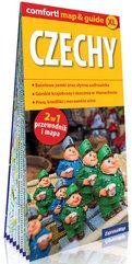 Czechy laminowany map&guide XL (2w1: przewodnik i mapa)