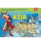 Azja - puzzle edukacyjne 80 elementów