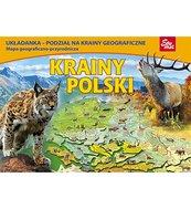 Krainy Polski - puzzle edukacyjne 74 elementy