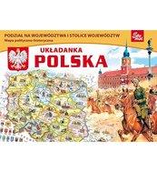Polska - puzzle edukacyjne 56 elementów