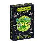 Karty do gry Waddingtons Rick & Morty