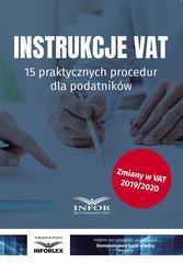 Instrukcje VAT.15 praktycznych procedur dla podatników