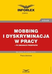 Mobbing i dyskryminacja w pracy – po zmianach przepisów