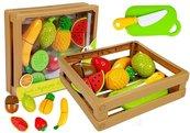 Zestaw do krojenia owoce na rzepy w skrzyni
