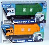 Teama Śmieciarka Scania 1:48 pomarańczowy