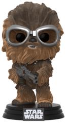 Funko POP Bobble: Star Wars: Solo: Chewbacca w/ Goggles (Flocked) (Exclusive)