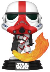 Funko POP TV: Star Wars The Mandalorian - Incinerator Stormtrooper