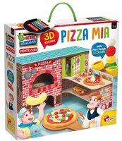 Montessori Moja Pizza 3D z modeliną