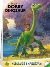 Dobry Dinozaur Koloruję i naklejam