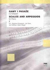 Gamy i pasaże na fortepian 2