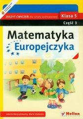 Matematyka Europejczyka 5 Zeszyt ćwiczeń część 3