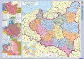 Mapa Historia Polski + pisak