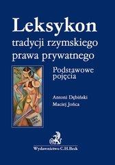 Leksykon tradycyji rzymskiego prawa prywatnego