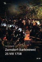 Zorndorf (Sarbinowo) 25 VIII 1758