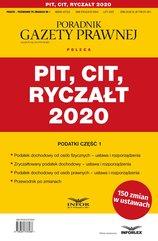 PIT, CIT, Ryczałt 2020