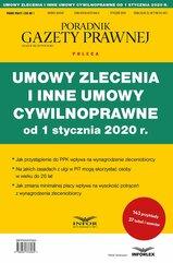 Umowy zlecenia i inne umowy cywilnoprawne od 1 stycznia 2020 r.